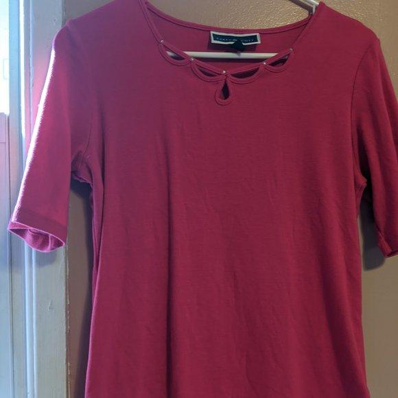 Karen Scott Medium short sleeve T-shirt Cotton